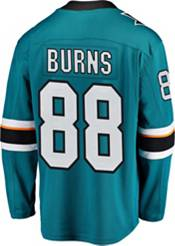 NHL Men's San Jose Sharks Brent Burns #88 Breakaway Home Replica Jersey product image