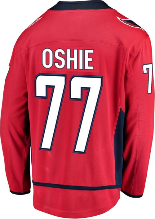 c8d525454 NHL Men s Washington Capitals T.J. Oshie  77 Breakaway Home Replica Jersey.  noImageFound. Previous. 1. 2. 3