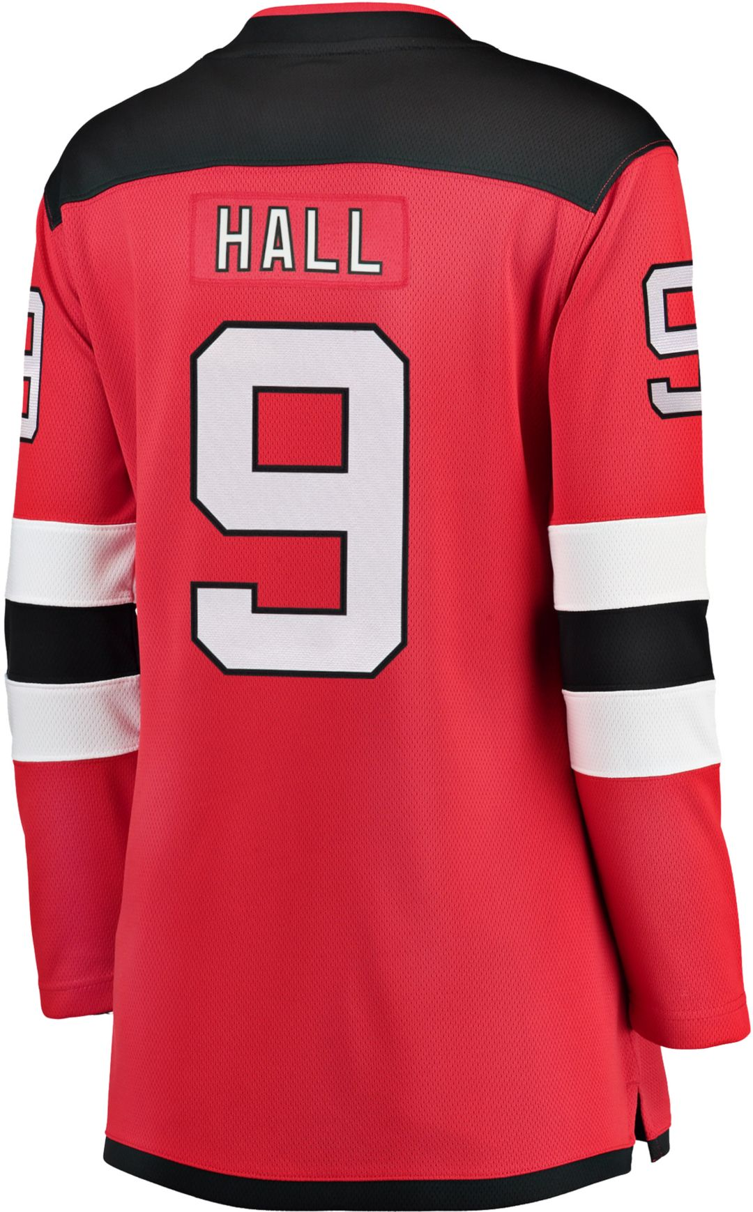 best website c03b6 aba16 NHL Women's New Jersey Devils Tayor Hall #9 Breakaway Home Replica Jersey