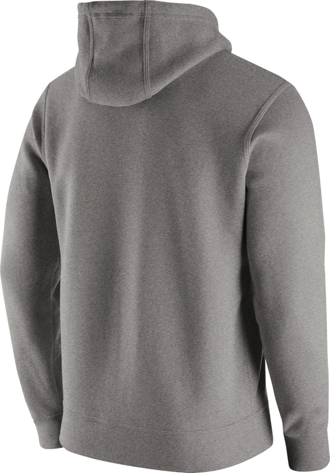 b9893edc Nike Men's Cincinnati Bengals Logo Club Grey Hoodie