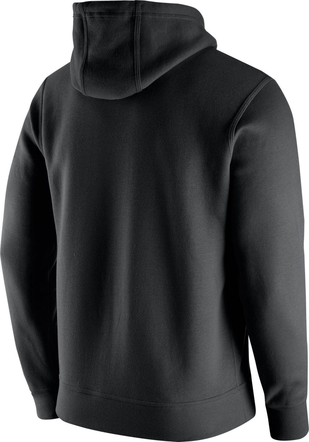 827945ba Nike Men's Minnesota Vikings Logo Club Black Hoodie