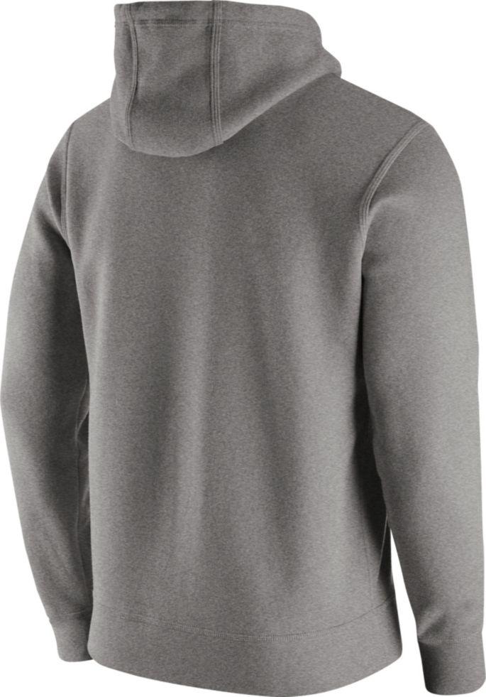 super popular 80297 0764d Nike Men's New York Giants Logo Club Grey Hoodie