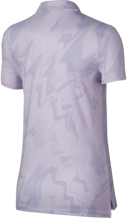 29db8f766 Nike Women's Dry Short Sleeve Printed Golf Polo | DICK'S Sporting Goods