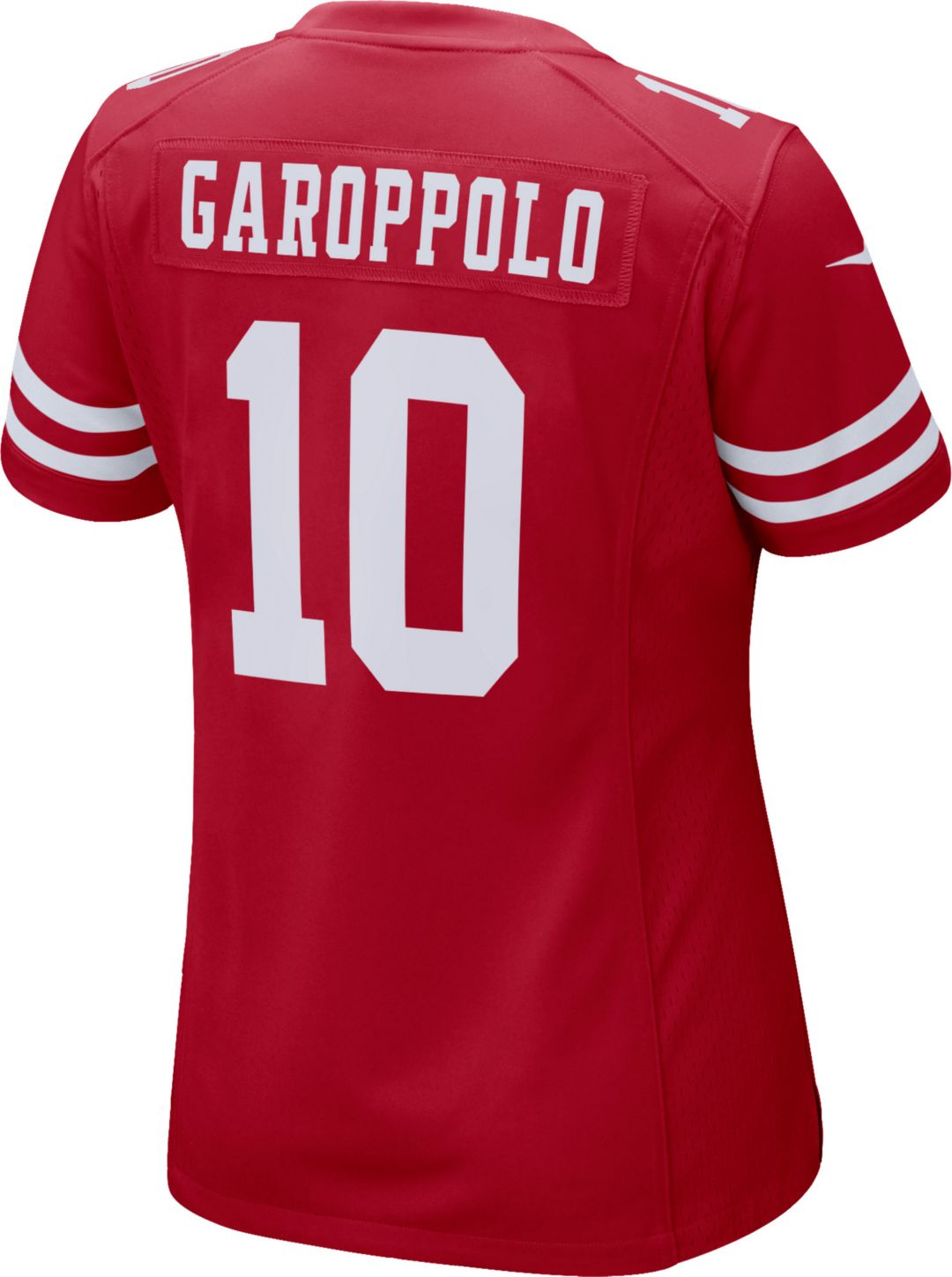 official photos f187f b96d6 Nike Women's Home Game Jersey San Francisco 49ers Jimmy Garoppolo #10