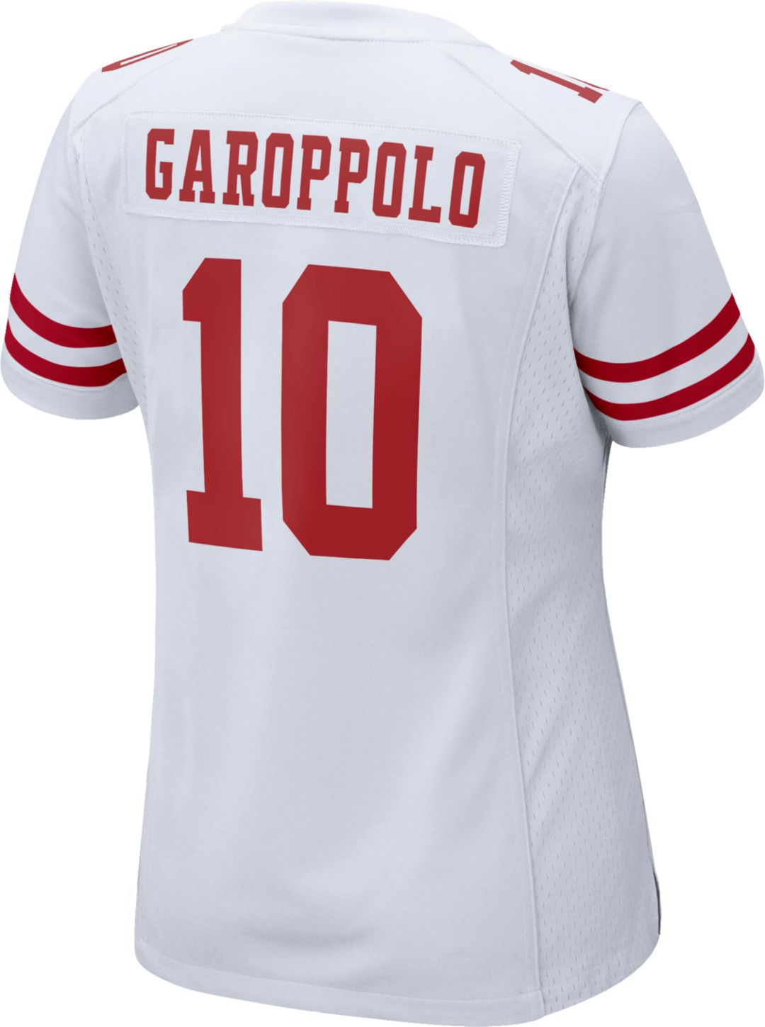 new product 61d4a 8192c Nike Women's Away Game Jersey San Francisco 49ers Jimmy Garoppolo #10