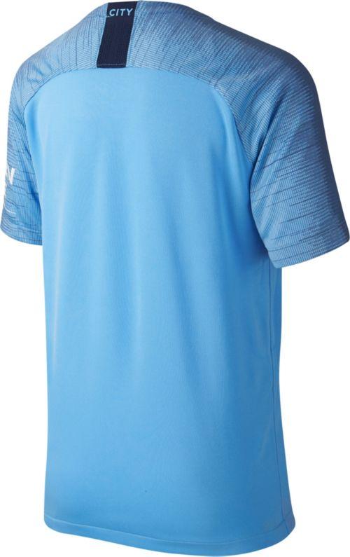 63540c1e16ca3 Nike Youth Manchester City 2018 Breathe Stadium Home Replica Jersey.  noImageFound. Previous. 1. 2. 3