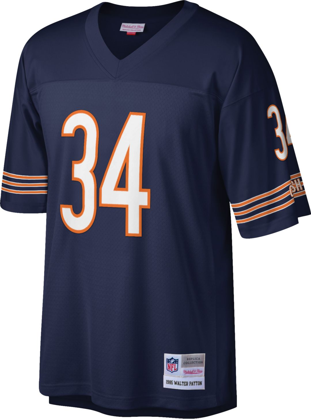 online store a831c e2cfc Mitchell & Ness Men's 1985 Game Jersey Chicago Bears Walter Payton #34