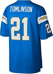 Mitchell & Ness Men's San Diego Chargers Ladainian Tomlinson #21 Blue 2009 Home Jersey product image