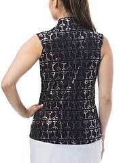 San Soleil Women's Solshine Sleeveless Print Golf Shirt product image