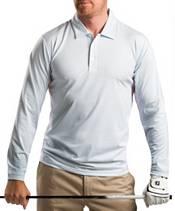 Sansoleil Men's Long Sleeve Stripe Golf Polo product image