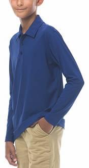 San Soleil Boys' Long Sleeve Polo product image