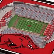 You the Fan Arkansas Razorbacks 3D Stadium Views Coaster Set product image