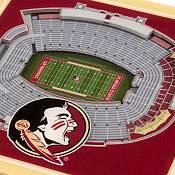 You the Fan Florida State Seminoles 3D Stadium Views Coaster Set product image