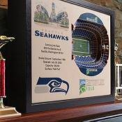 You the Fan Seattle Seahawks 25-Layer StadiumViews 3D Wall Art product image