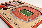 You the Fan Cleveland Browns 3D Picture Frame product image