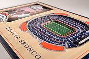 You the Fan Denver Broncos 3D Picture Frame product image