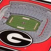 You the Fan Georgia Bulldogs 3D Stadium Views Coaster Set product image