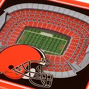 You the Fan Cleveland Browns 3D Stadium Views Coaster Set product image