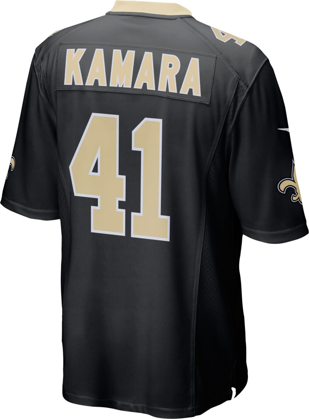 404b9332 Nike Men's Home Game Jersey New Orleans Saints Alvin Kamara #41