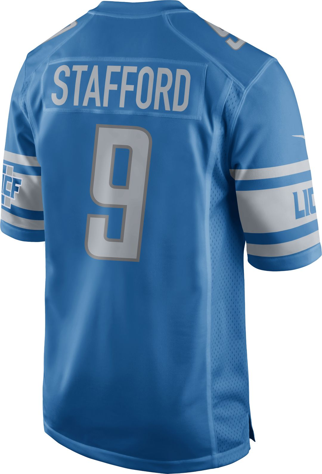 new product 9aefb 2c231 Nike Men's Home Game Jersey Detroit Lions Matthew Stafford #9