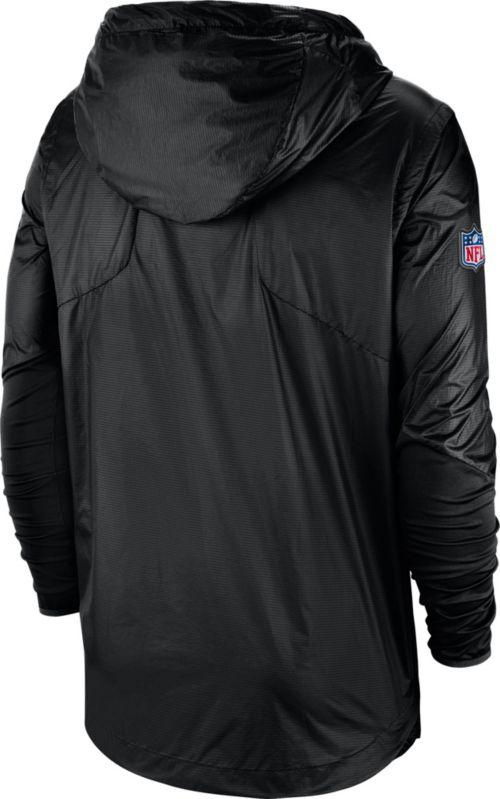 0fca7d72dda7 Nike Men s Pittsburgh Steelers Sideline Fly Rush Black Jacket ...