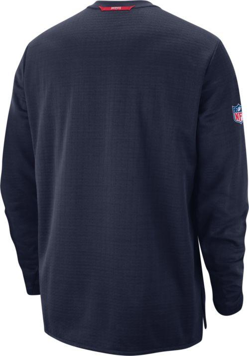 c7dc63d6a47 Nike Men s New England Patriots Sideline Modern Navy Long Sleeve Top ...