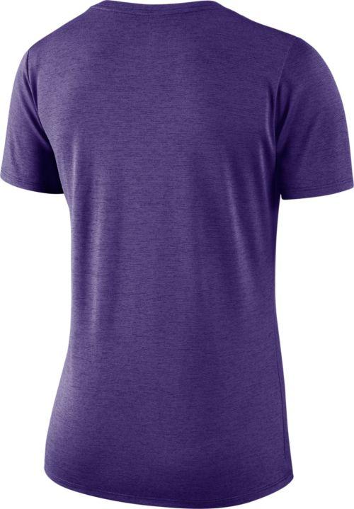 2cfb2fd3b Nike Women s Minnesota Vikings Dry Performance Purple V-Neck Top ...