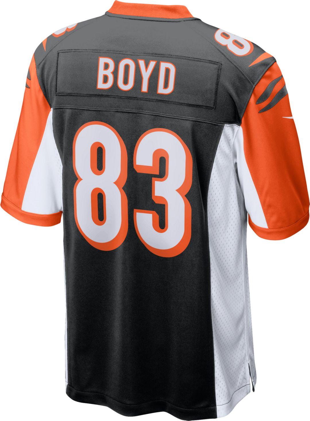 quality design 19efd 8484f Nike Men's Home Game Jersey Cincinnati Bengals Tyler Boyd #83