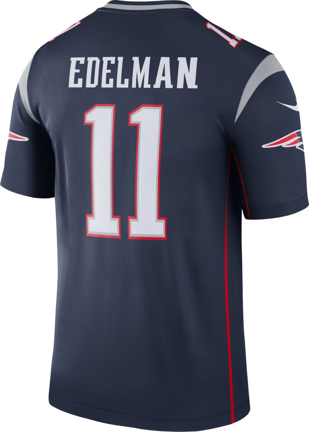 more photos b9857 93848 Nike Men's Home Legend Jersey New England Patriots Julian Edelman #11