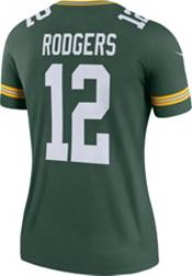 Nike Women's Home Legend Jersey Green Bay Packers Aaron Rodgers #12 product image