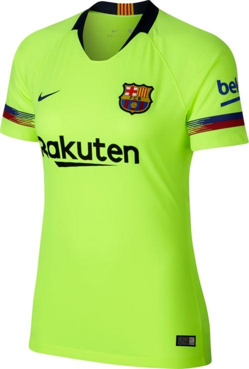 336af0a27 Nike Women s Barcelona FC 2018 Breathe Stadium Away Replica Jersey ...
