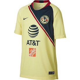 b0c67860b Nike Youth Club America 2018 Breathe Stadium Home Replica Jersey ...