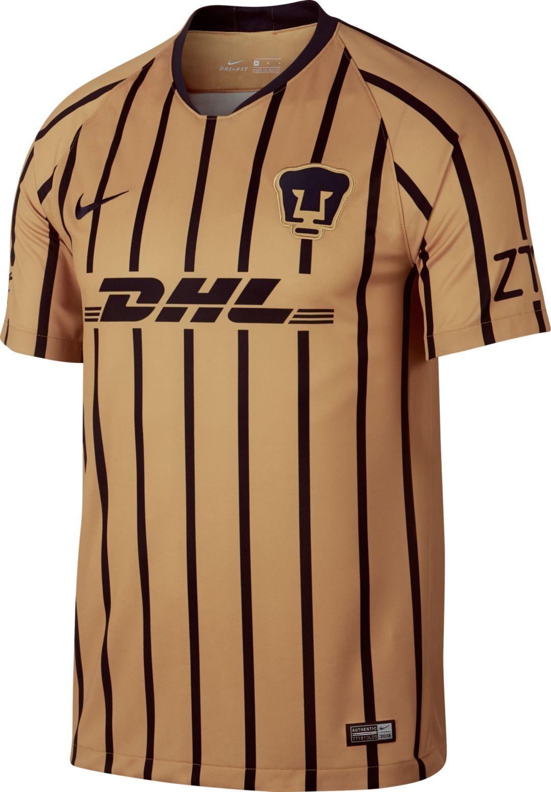 innovative design 3c1e5 05921 Nike Youth Pumas UNAM 2018 Breathe Stadium Away Replica Jersey