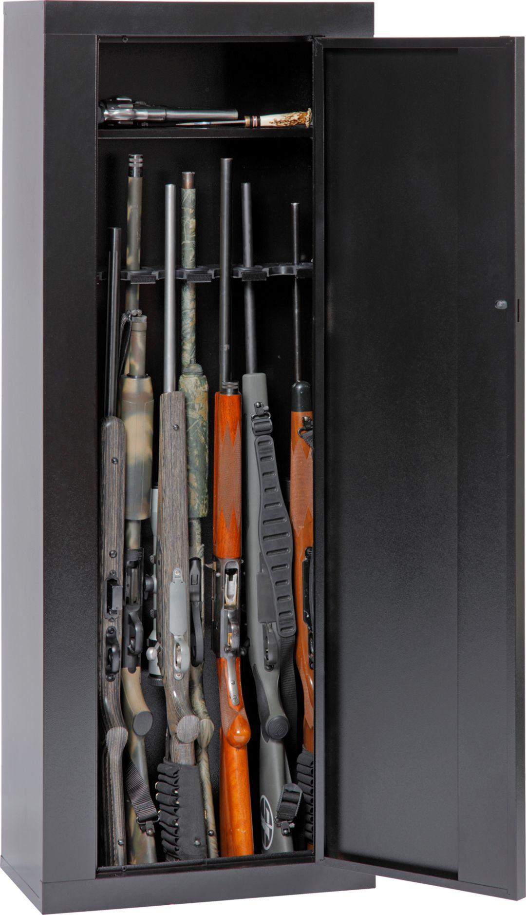 Gun Security Cabinet >> American Furniture Classic 10 Gun Security Cabinet