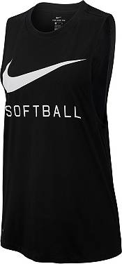Nike Women's Swoosh Softball Muscle Tank Top product image