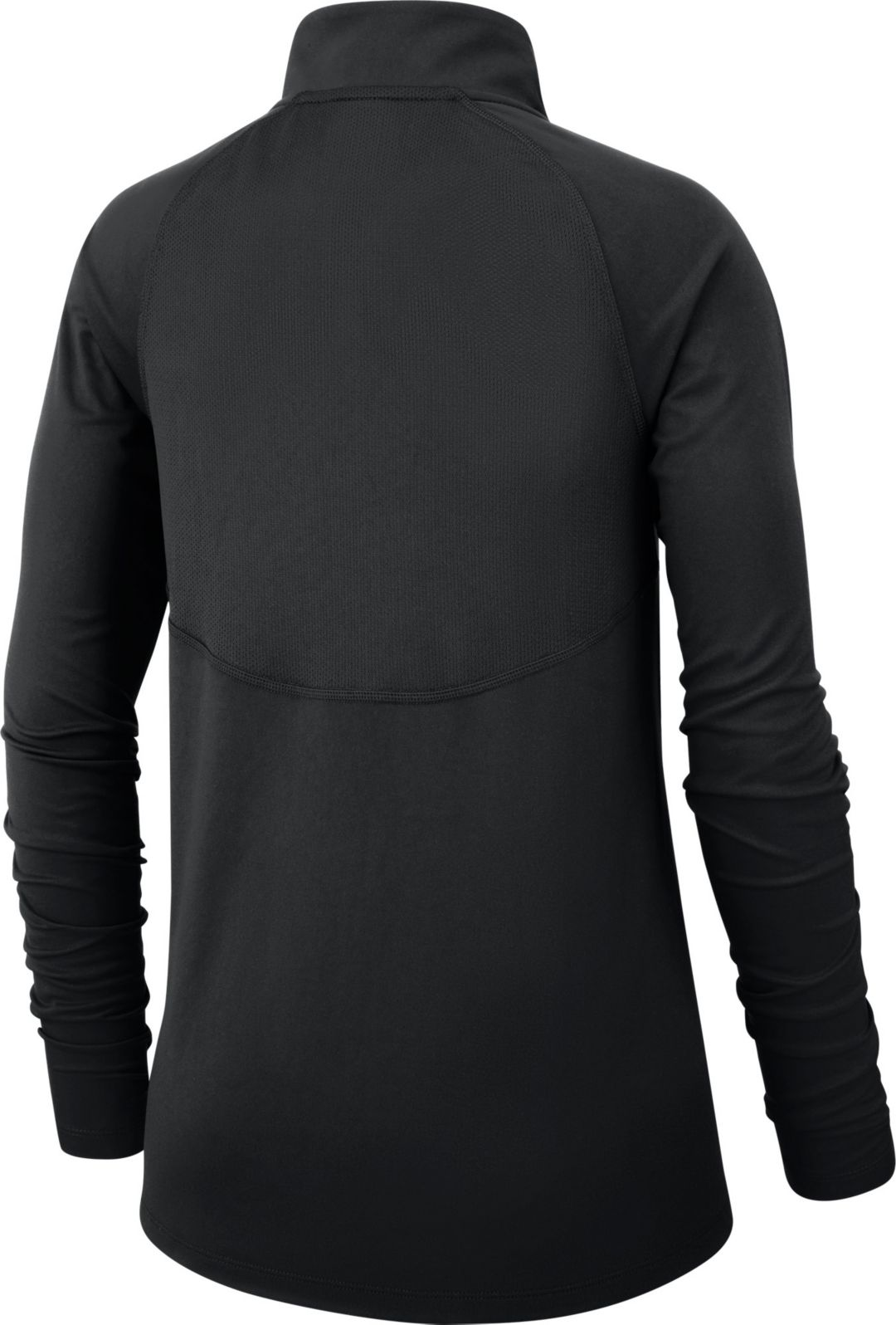 big sale 17e20 293d8 Nike Women's New Orleans Saints Core Black Half-Zip Pullover