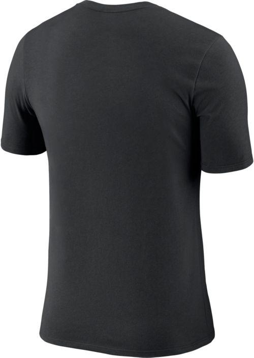 c9083a23187 Nike Men s New Orleans Saints Icon Performance Black T-Shirt ...