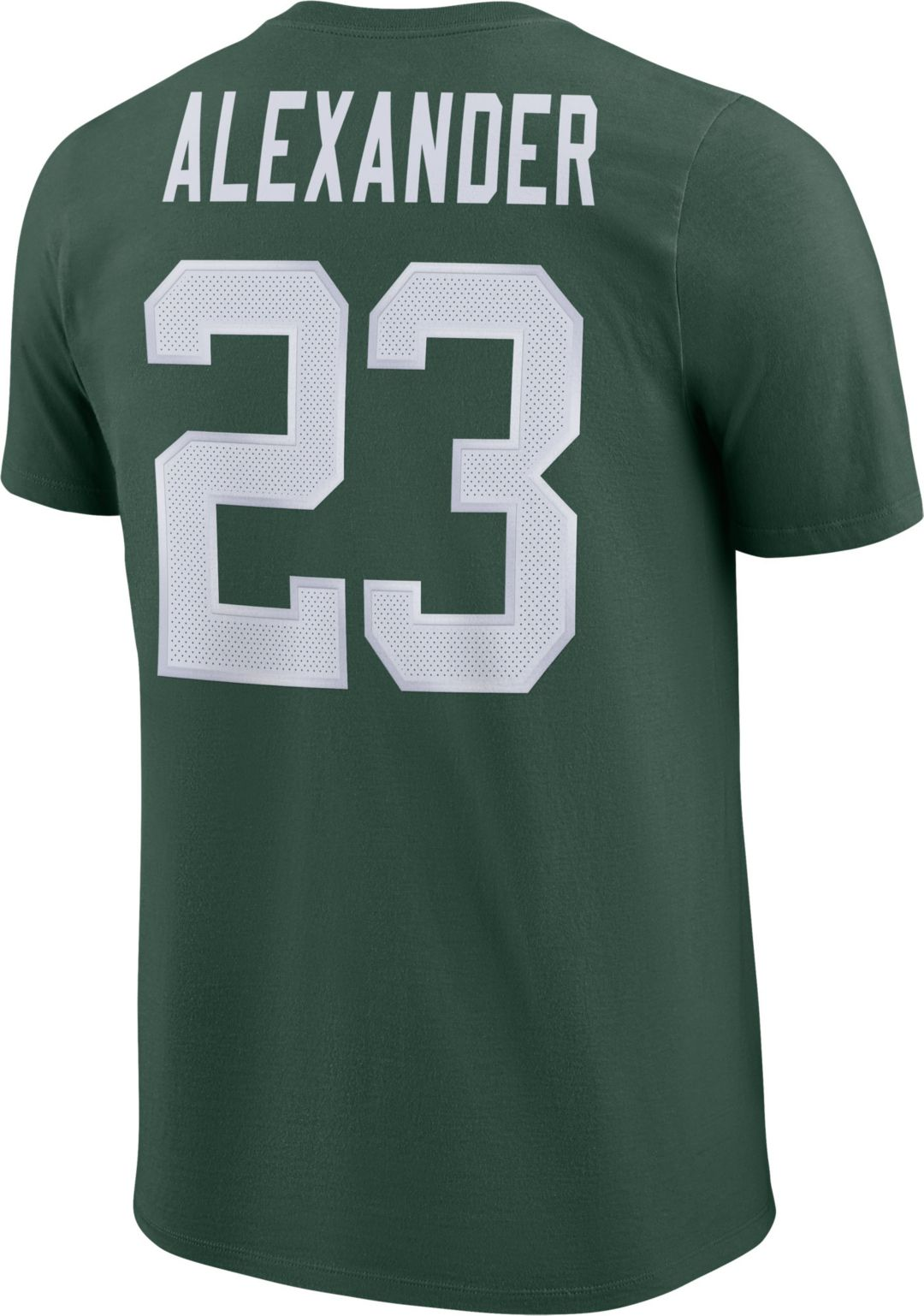 f3e08219 Jaire Alexander #23 Nike Men's Green Bay Packers Pride Green T-Shirt