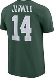Sam Darnold #14 Nike Men's New York Jets Pride Green T-Shirt product image