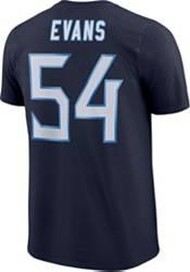 Rashaan Evans #54 Nike Men's Tennessee Titans Pride Navy T-Shirt product image