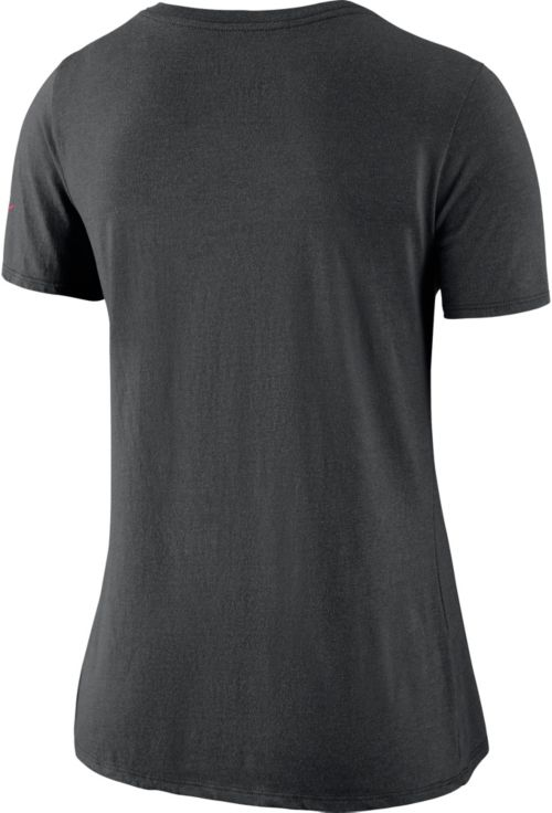 Nike Women s Atlanta Falcons Historic Logo Tri-Blend Black T-Shirt.  noImageFound. Previous. 1. 2 9d492c88a3