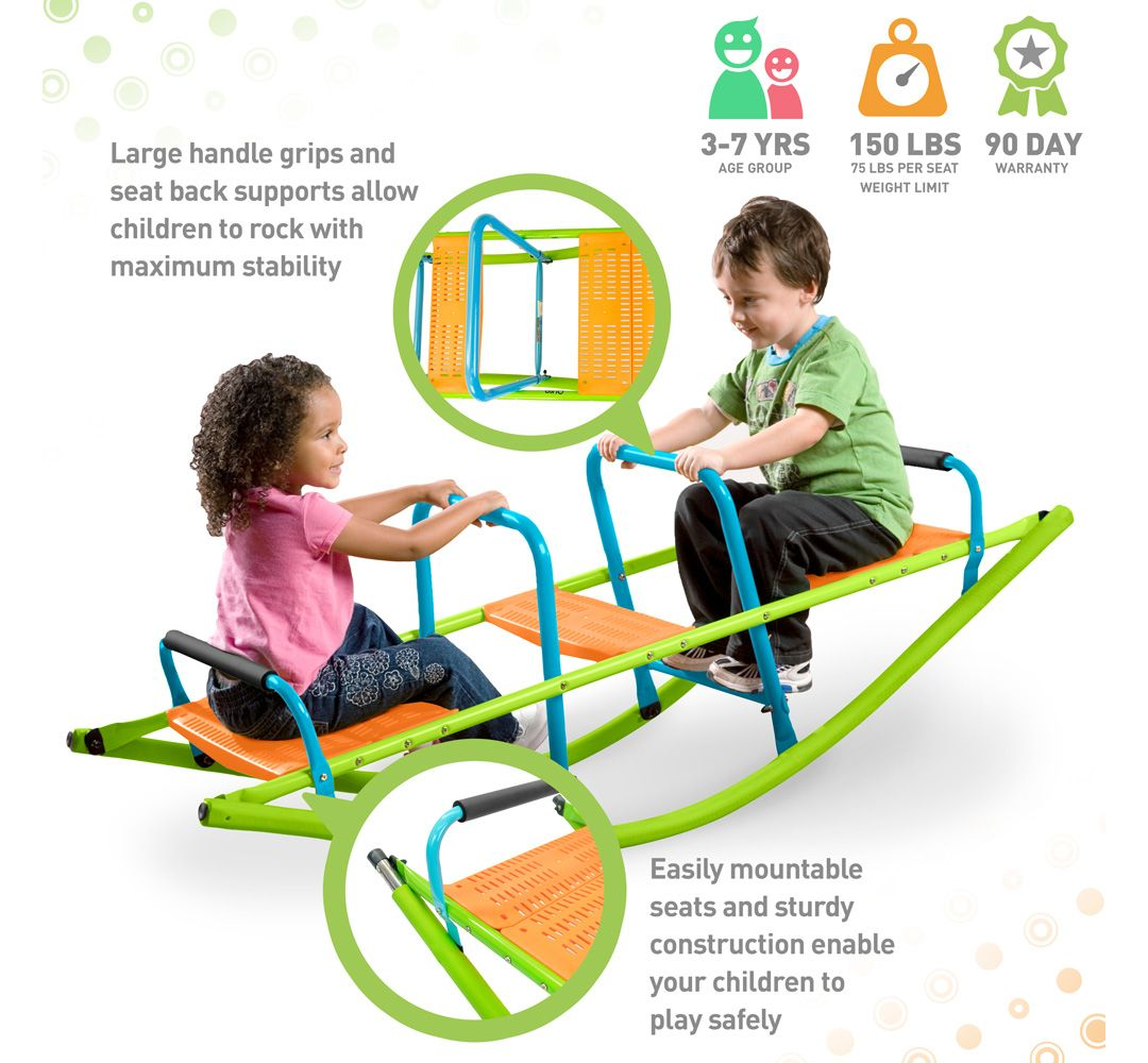 Superb Pure Fun Rocker Kids Seesaw Ocoug Best Dining Table And Chair Ideas Images Ocougorg