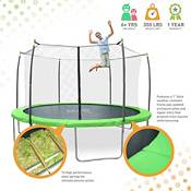Pure Fun Dura-Bounce 12ft Trampoline with Safety Enclosure product image
