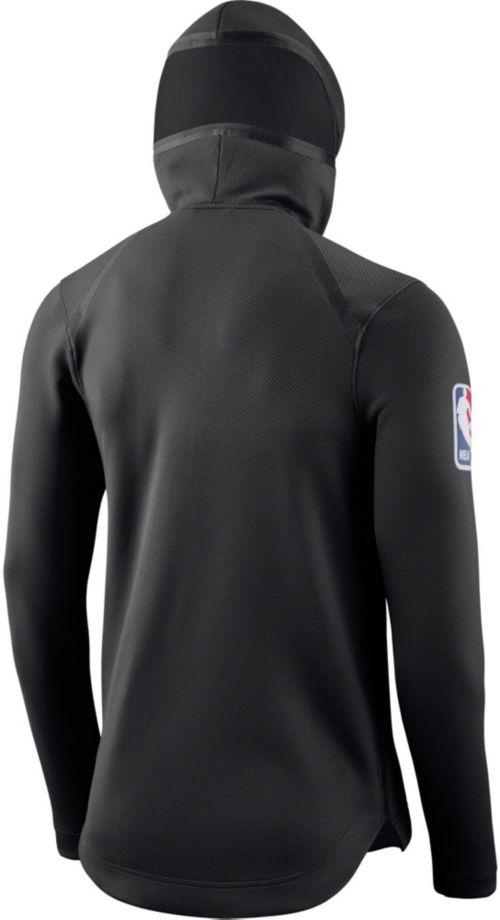 f28e7de47b5 Nike Men s Milwaukee Bucks On-Court Therma Flex Showtime Full-Zip Hoodie