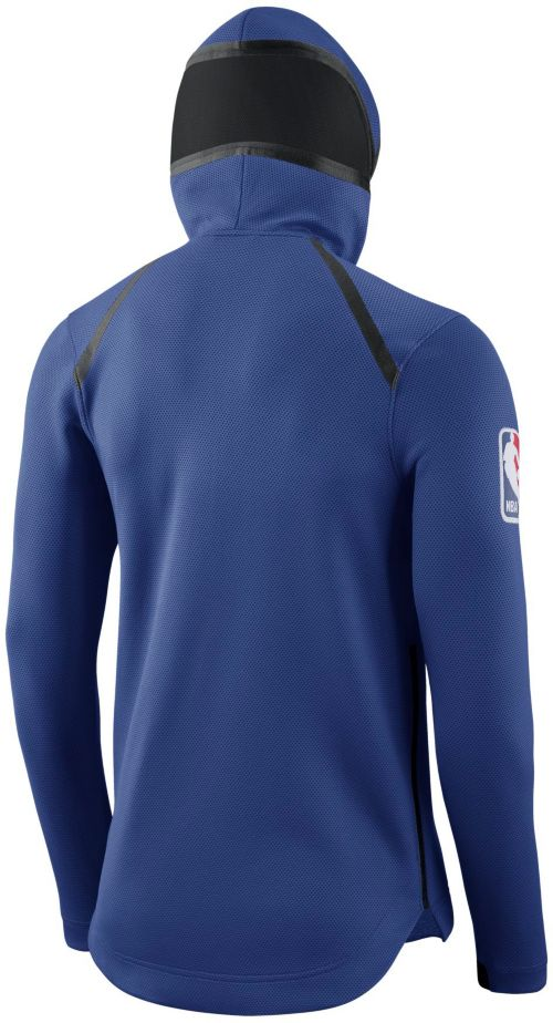bf256d2b0 Nike Men s New York Knicks On-Court Therma Flex Showtime Full-Zip Hoodie