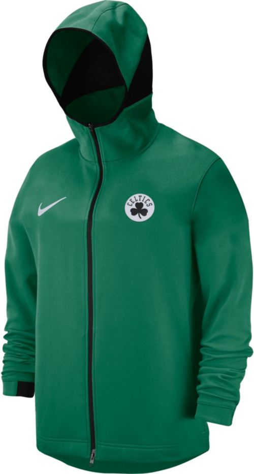 ab451dc26a6 Nike Men s Boston Celtics On-Court Dri-FIT Showtime Full-Zip Hoodie ...