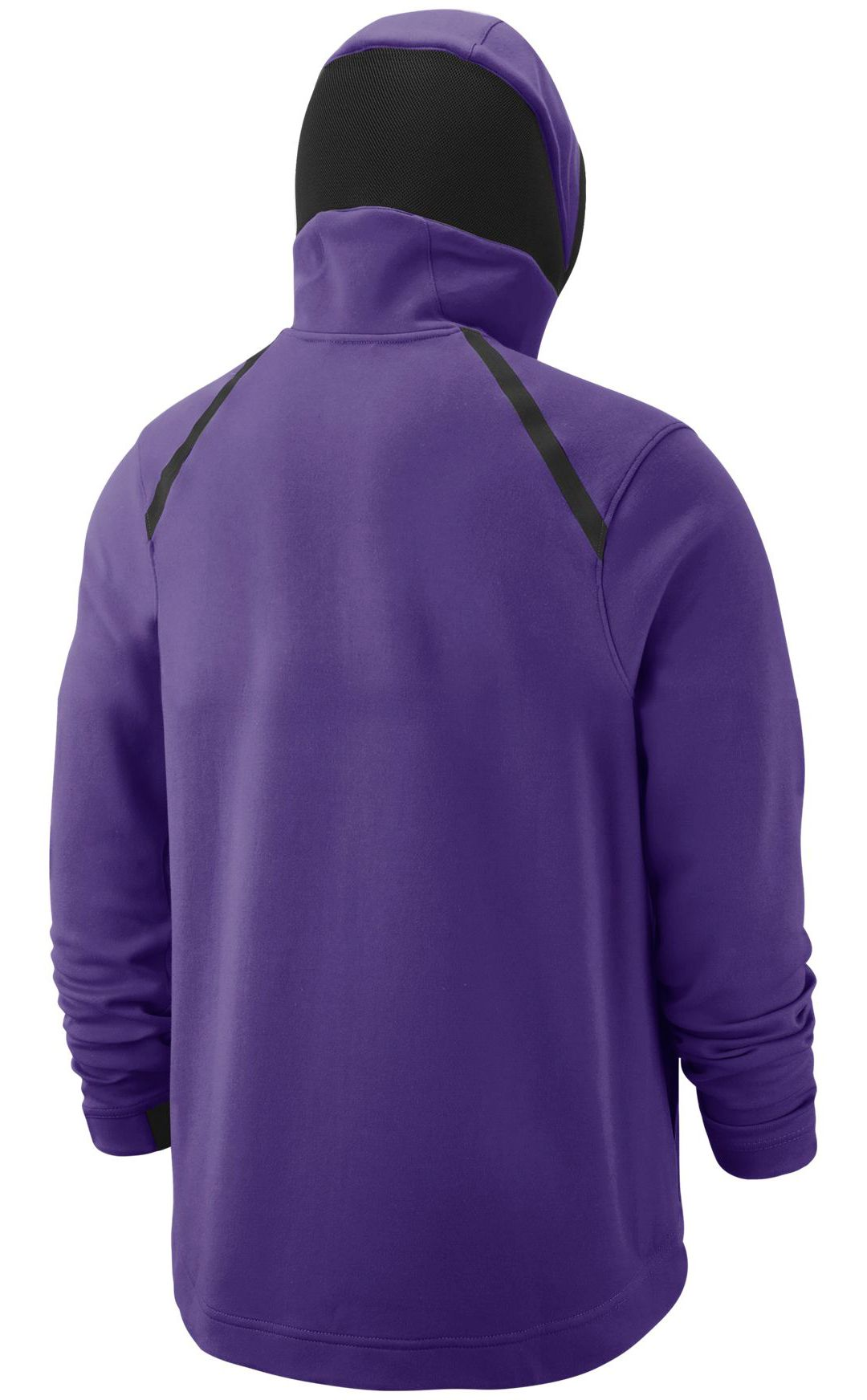 brand new 67434 c668a Nike Men's Los Angeles Lakers On-Court Dri-FIT Showtime Full-Zip Hoodie