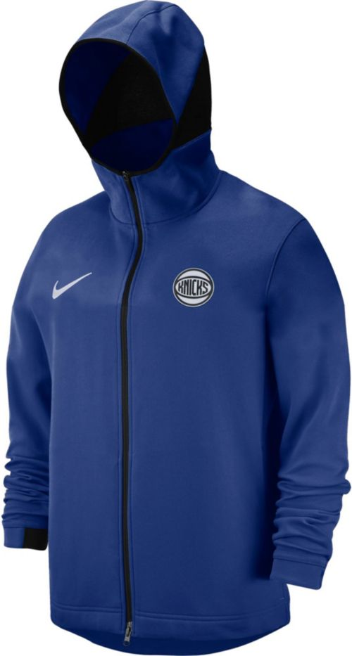 1a133b270 Nike Men s New York Knicks On-Court Dri-FIT Showtime Full-Zip Hoodie.  noImageFound. Previous. 1. 2. 3
