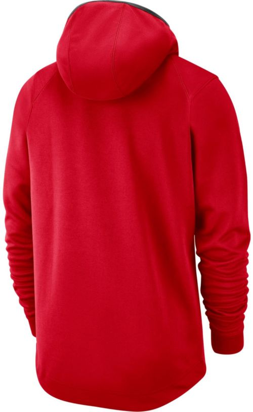 267b9409a59 Nike Men's Houston Rockets On-Court Pullover Hoodie | DICK'S ...