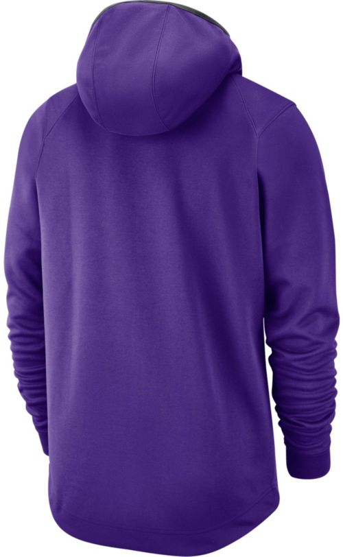 7b3a60b7 Nike Men's Los Angeles Lakers On-Court Pullover Hoodie. noImageFound.  Previous